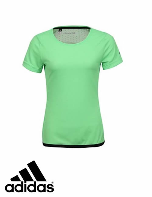 cd119596 Women's Adidas T-Shirt - Climachill Tee - Green | ACTIVEWEAR ...