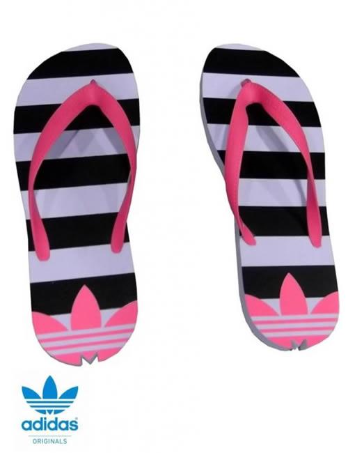 1c13f7ea1ce3 Adidas Adisun Sandals Flip-Flops - Pink White   Black