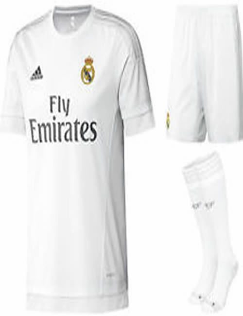 best service 9e182 3550e Boy's Adidas - Real Madrid Football Club Full Kit Gift Box ...