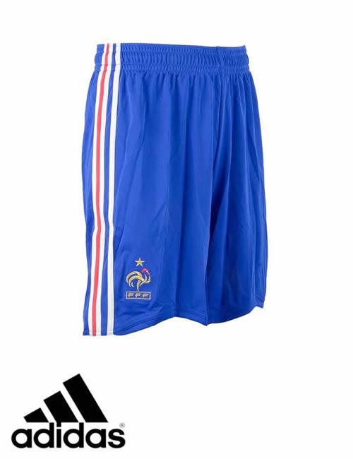 4f109e1ad Men's Adidas Shorts - France F.F.F Shorts - Blue   ACTIVEWEAR ...
