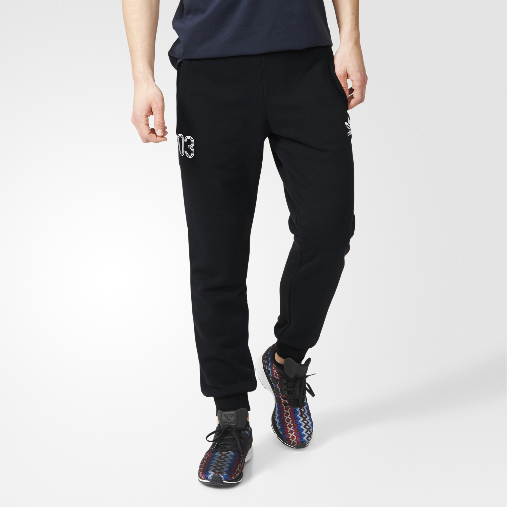 45bbe2a9c19 Men s Adidas Originals Bottoms - Team Classic Track Pants - Black ...
