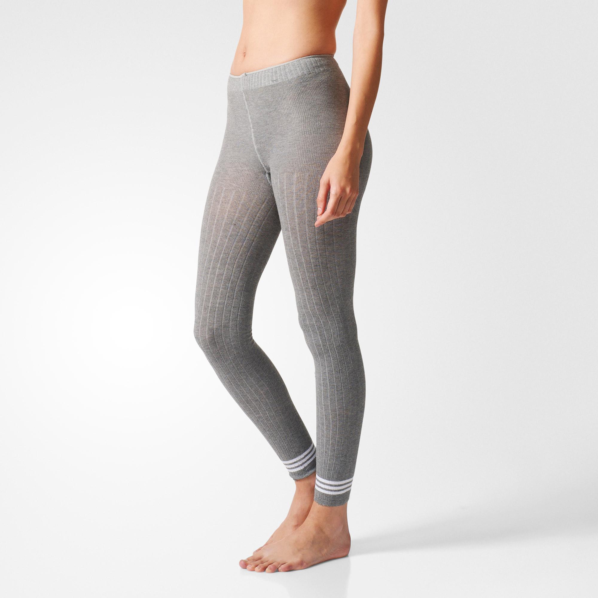 1e64ba1cd21873 Women's Adidas Tights - Hyke Leggings 3S - Grey   ACTIVEWEAR ...