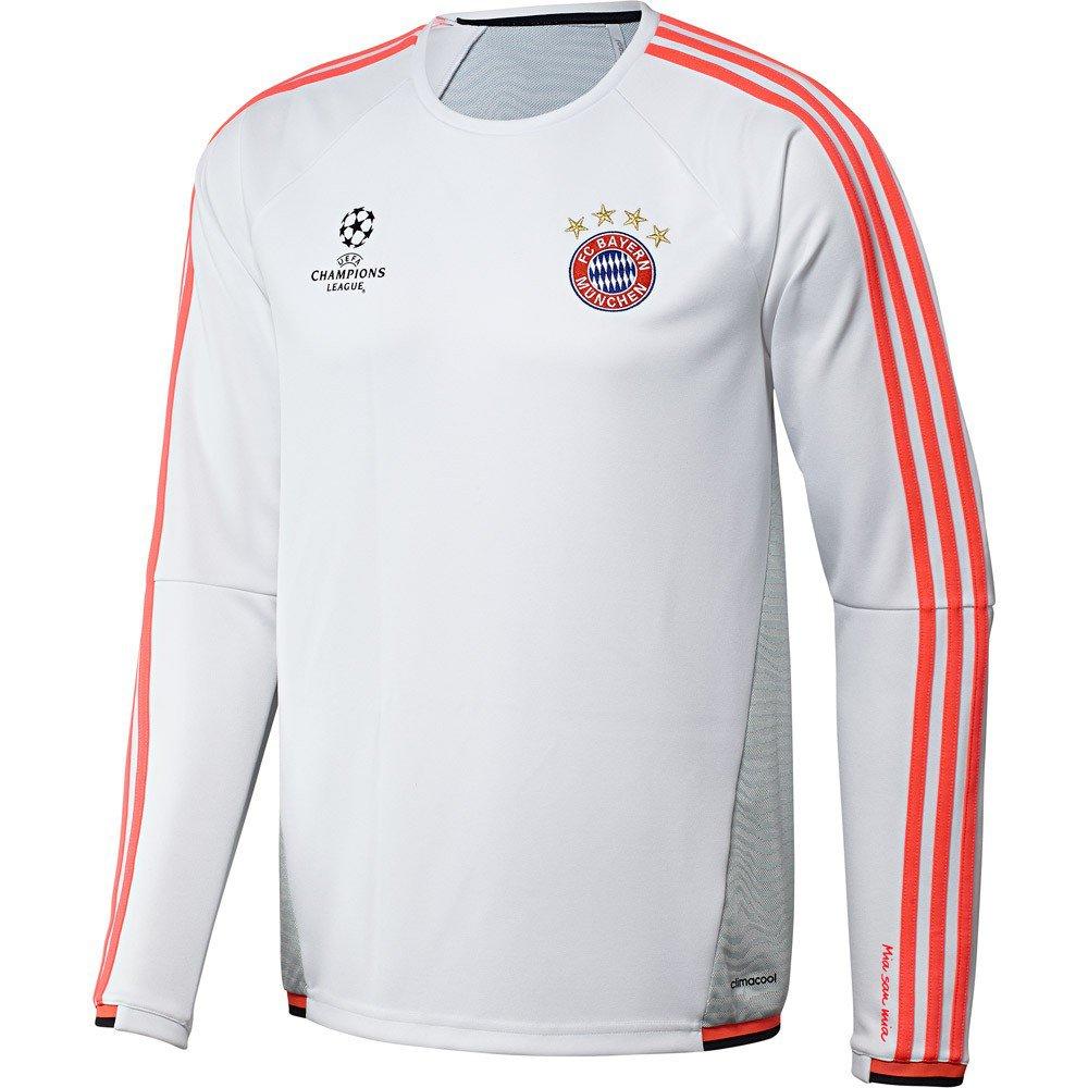 buy online 0326c c41a0 Men's Adidas Hoody - Bayern Munich FC - Champions League - Training Top -  White