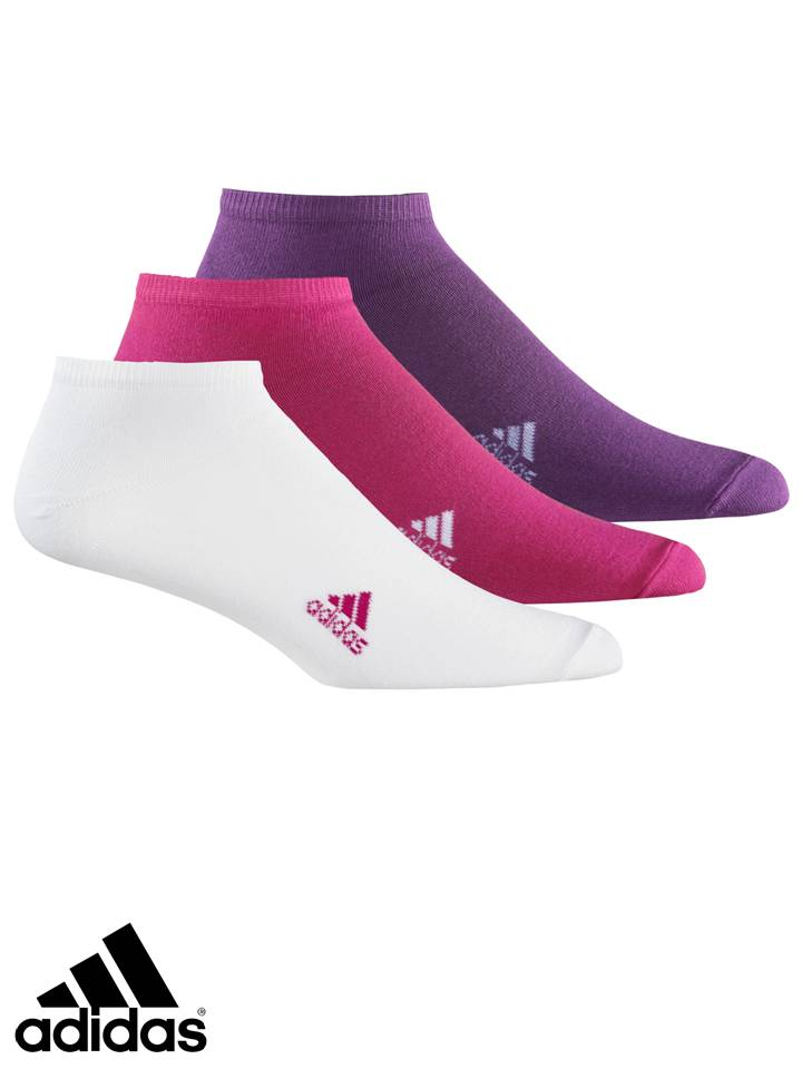 9866a500a2a7 Junior Adidas Socks - Ankle Socks - 3 Pairs - White