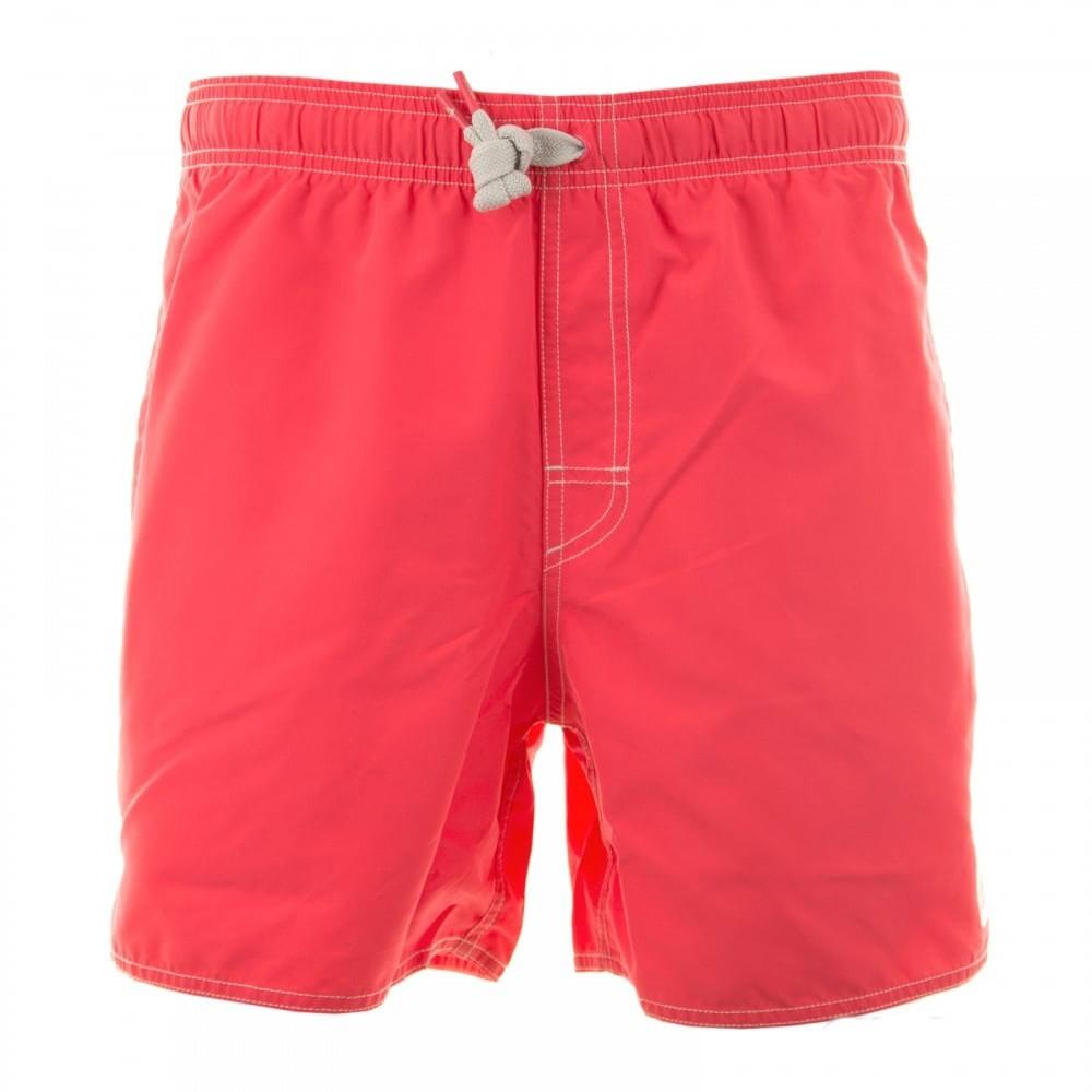 93d359990b644 Men's Adidas Swim Shorts - Solid Short Swimming Trunks - Red | ACTIVEWEAR &  SPORTSWEAR CLOTHING