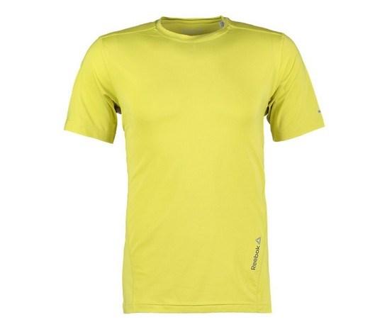 virallinen klassinen tyyli uusia kuvia Men's Reebok T-Shirt - DT Stretch Tee - Yellow