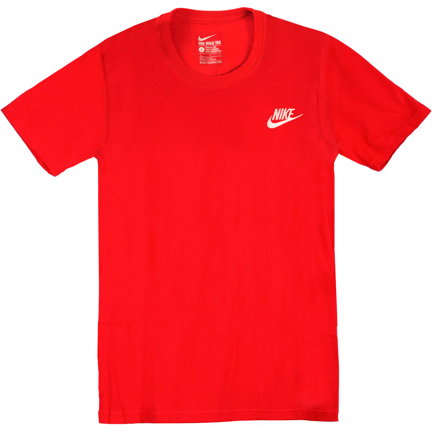 cd2dcf03d96e Men s Nike T-Shirt - Nike Futura Core Tee - Red