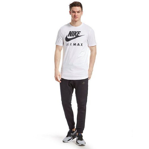 nike air max t shirt white