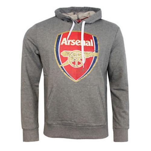 newest 8d034 6aa1d Men's Puma Hoody - Arsenal FC Hooded Top - Grey