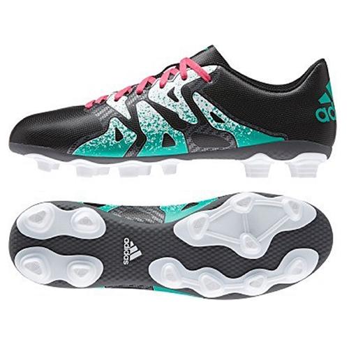 meet 3490a e9ffc Men's Adidas Boots - X 15.4 Firm Ground/AG Football Boots - Black