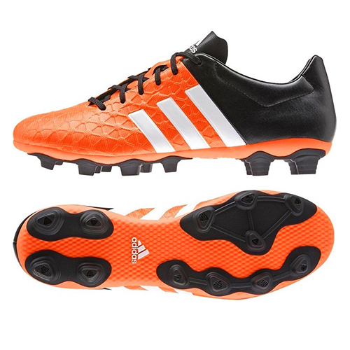 super cute 29ea9 4549b Men's Adidas Boots - Ace 15.4 Firm Ground Football Boots - Orange