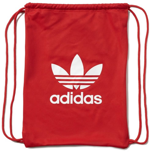c7066b9be854 Adidas Originals Bag - Tricot Gym Sack - Red