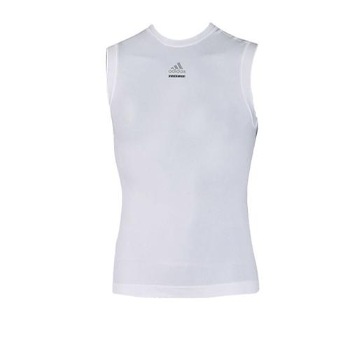 Compression White Top Adidas Vest Activewear Men's Techfit qTA1FxBt