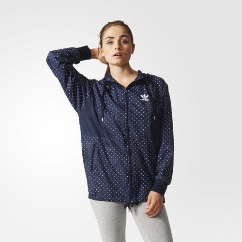 803c471af465 Women s Adidas Originals Jacket - Colorado Windbreaker - Blue ...
