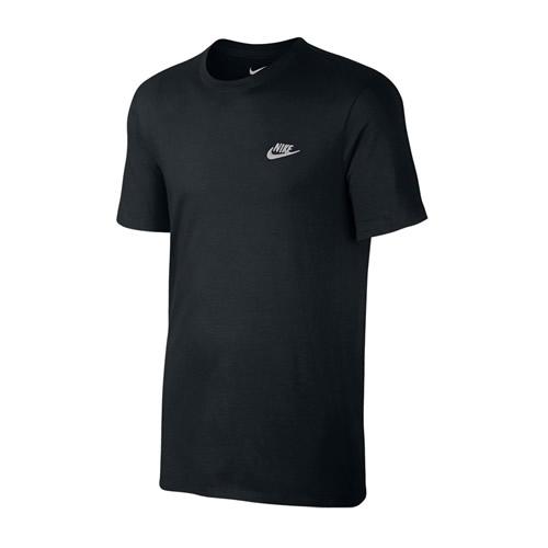 8f03234b Men's Nike T-Shirt - Nike Futura Core Tee - Black | ACTIVEWEAR ...