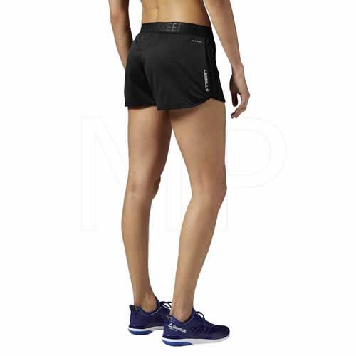 Women's Reebok Shorts - Les Mills Mesh Shorts - Black