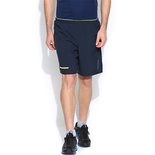 low priced 42f0d ace40 Men s Reebok Shorts - One Series 2-1 Running Compression Shorts - Blue
