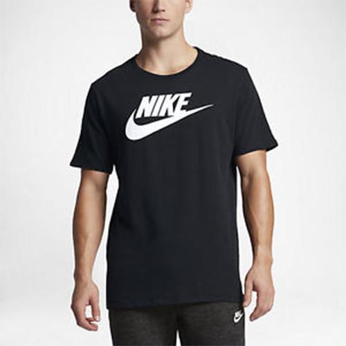 65ae2bd8 Men's Nike T-Shirt - Nike Futura Tee - Black | ACTIVEWEAR ...